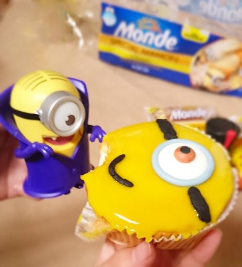 DIY Minion sponge cake - ChiaChinR