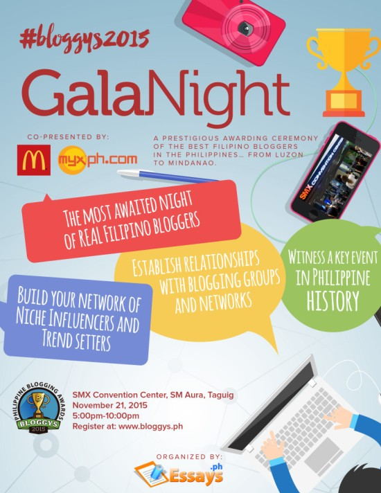Bloggys 2015: Gala Night